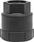 1988-92 GTA WHEEL NUT LOCK CAP (BLACK)