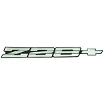 1991-92 CAMARO Z28 REAR PANEL EMBLEM-SILVER & BLACK