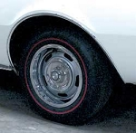 1967-68 FIREBIRD CAMARO REAR WHEEL WELL MOLDING LH