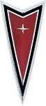 1977-81 FIREBIRD FRONT END (CREST) RED EMBLEM