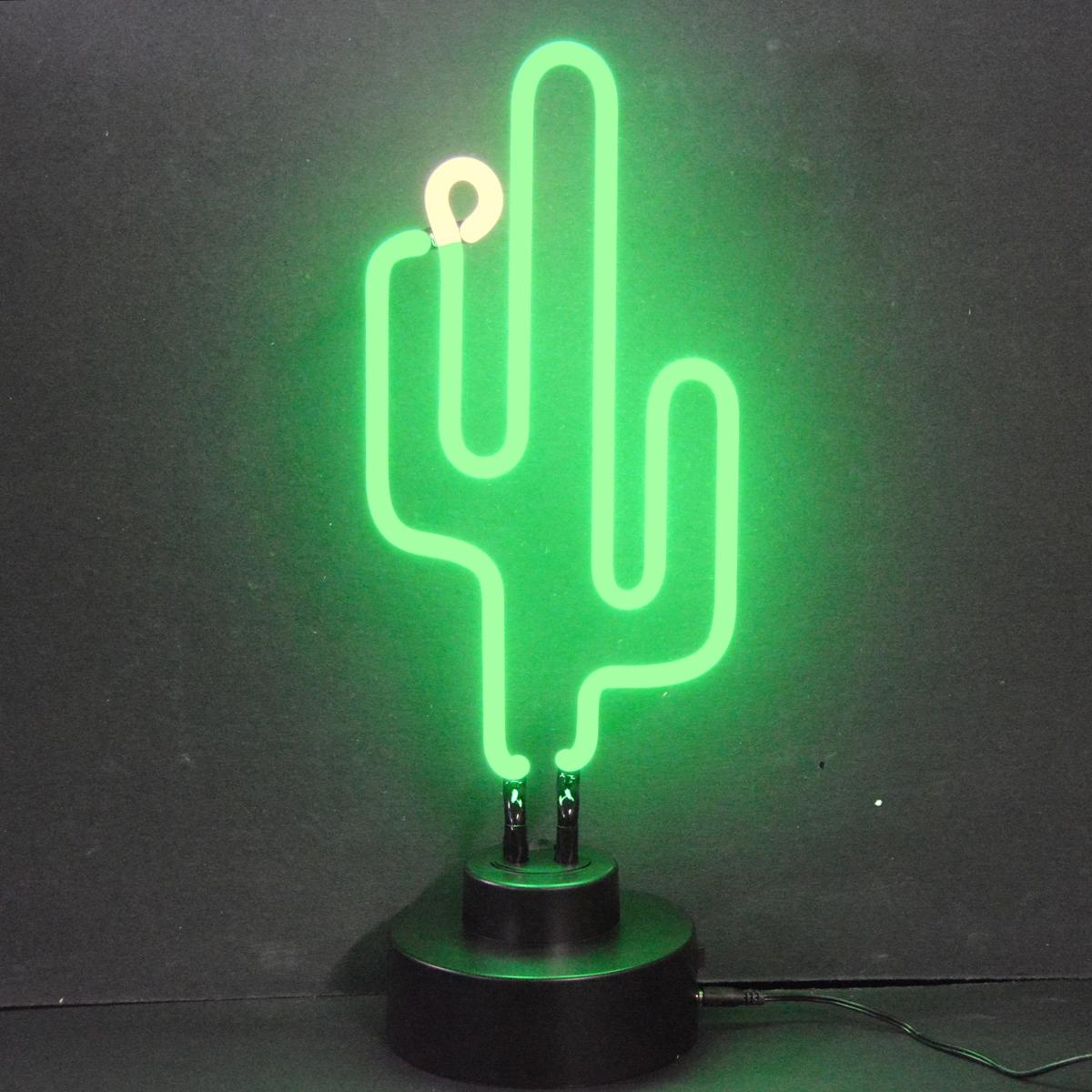 Cactus Neon Sculpture