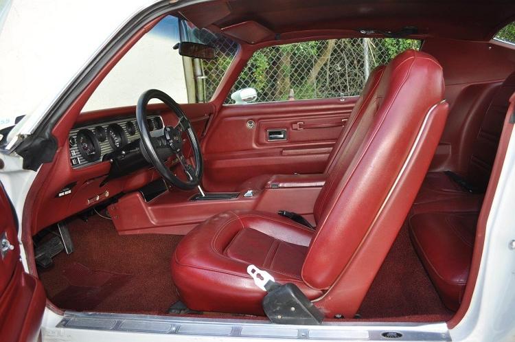Bucket Seats Red Firebird Deluxe 73 75