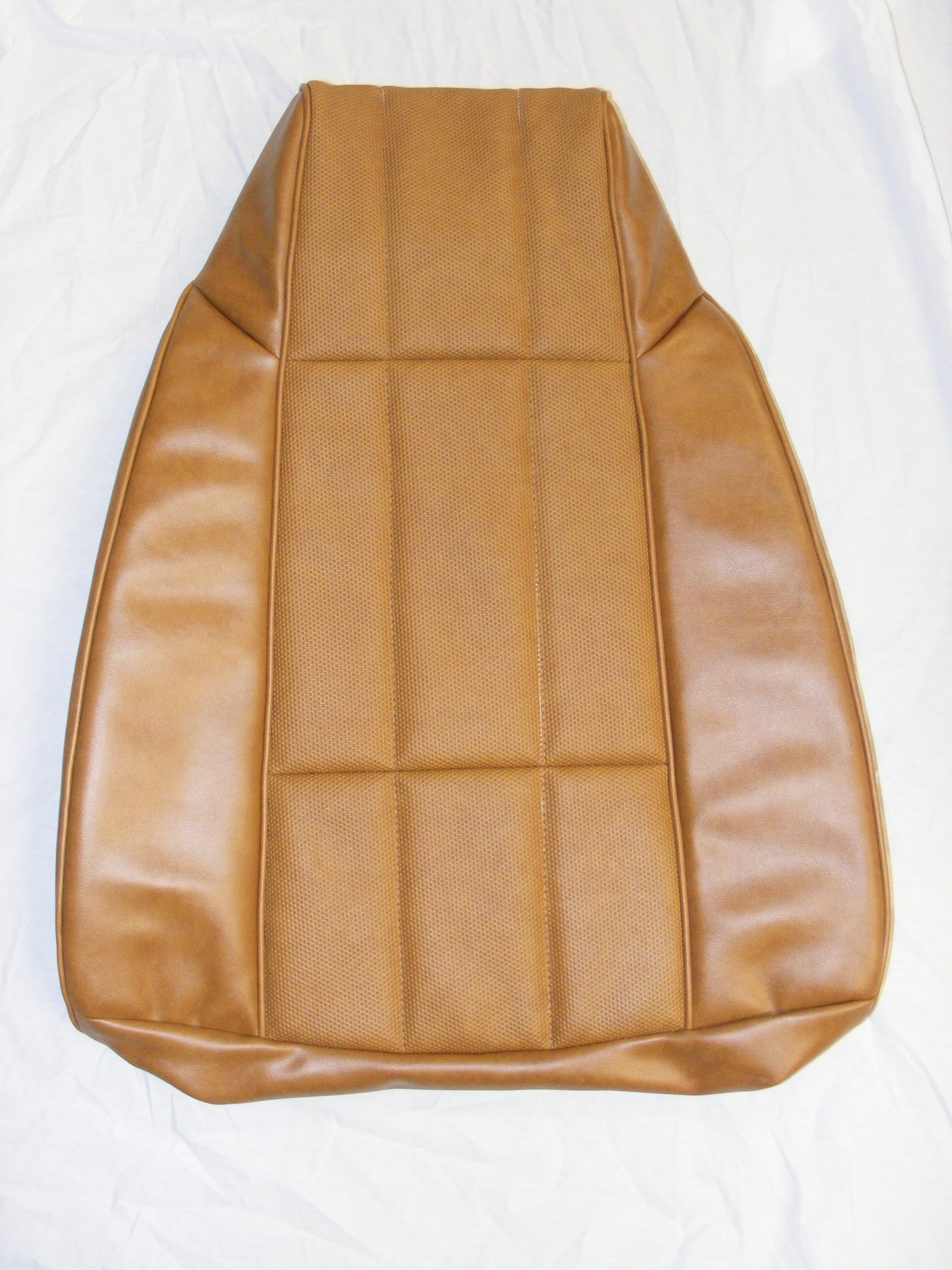 Custom Vinyl Seat Covers Coupe Rear Camel Camaro Lt 78