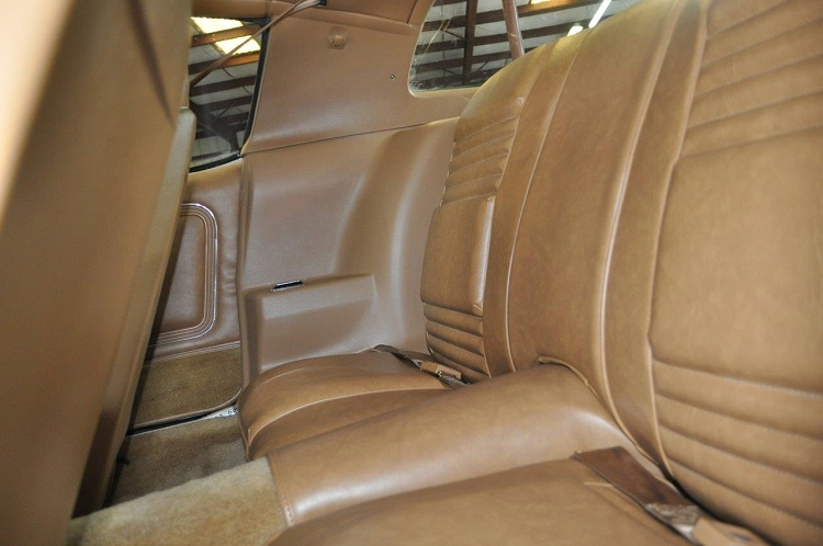 Vinyl Seat Cover Rear Seat Camekl Firebird Deluxe 78 81
