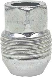 1982-02 LUG NUT (STEEL WHEEL) 24MM-2.0 EXTERNAL THREADS FOR PLASTIC CAP (SILVER)