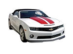 DECAL KIT CONVERTIBLE RALLY STRIPE WITH & W/O RS SPOILER RED CAMARO