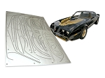 SPECIAL EDITION STRIPES KIT PREMOLDED INCL TURBO GOLD 79-81