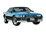 DECAL KIT Z28 BLUE CAMARO 82-84