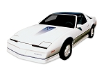 DECAL KIT 15TH ANNIVERSARY BLUE TRANS AM 82-84