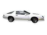DECAL KIT IROC-Z W/PRE-MOLDED STRIPES GOLD CAMARO 88-90
