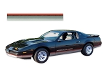 DECAL KIT LOWER BODY FADER STRIPE CHARCOAL FIREBIRD-FORMULA 89-90