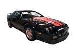 DECAL KIT COUPE HERITAGE 25 ANNIVERSARY BLACK CAMARO 91-92