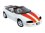 DECAL KIT CONVERTIBLE OR T-TOP RS Z28 NON-SS 30TH ANNIV ORANGE