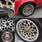 18 X 9 BILLET WHEEL SNOWFLAKE SET OF 4
