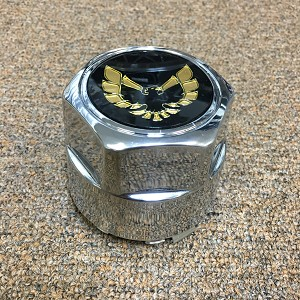 WHEEL CENTER CAP WITH GOLD EMBLEM 79-81 WITH BRACKET  (SET OF 4) N89