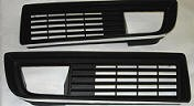 1979-81 GRILLES BEZEL BLACK PAIR