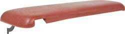 1970-81 F-BODY CONSOLE LID COVER-DARK CARMINE RED