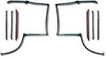 1982-92 F-BODY COMPLETE T-TOP WEATHERSTRIP SET