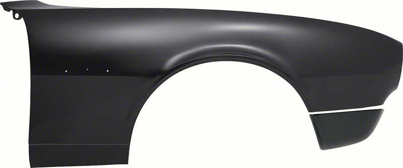 1967 Camaro Rally Sport Front Fender with Extension; RH