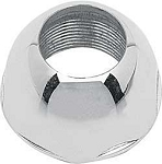 1967-68 Chrome Domed Bezel Nut For Reproduction Antenna Base 5/8