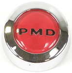 1967-72 RALLY II CENTER CAP RED WITH BLACK PMD SET OF 4