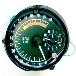1973-75 Firebird Tach/Clock Assembly
