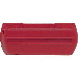 1968-69 LH ARM REST BASE RED