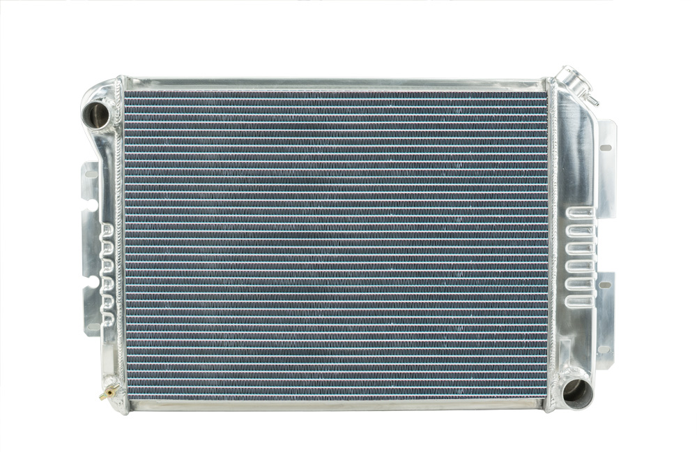 1967-1969 GM F-Body Aluminum Performance Radiator. AT Cars. Big Block Camaro and all Firebird models.