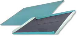 1967 F-BODY INNER SAIL PANELS-TURQUOISE