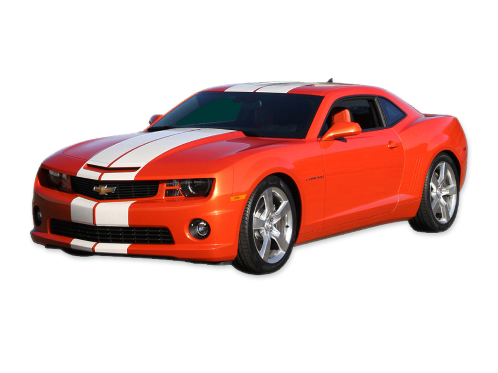 DECAL KIT PACE CAR STYLE RALLY STRIPE HUGGER ORANGE CAMARO 10-13