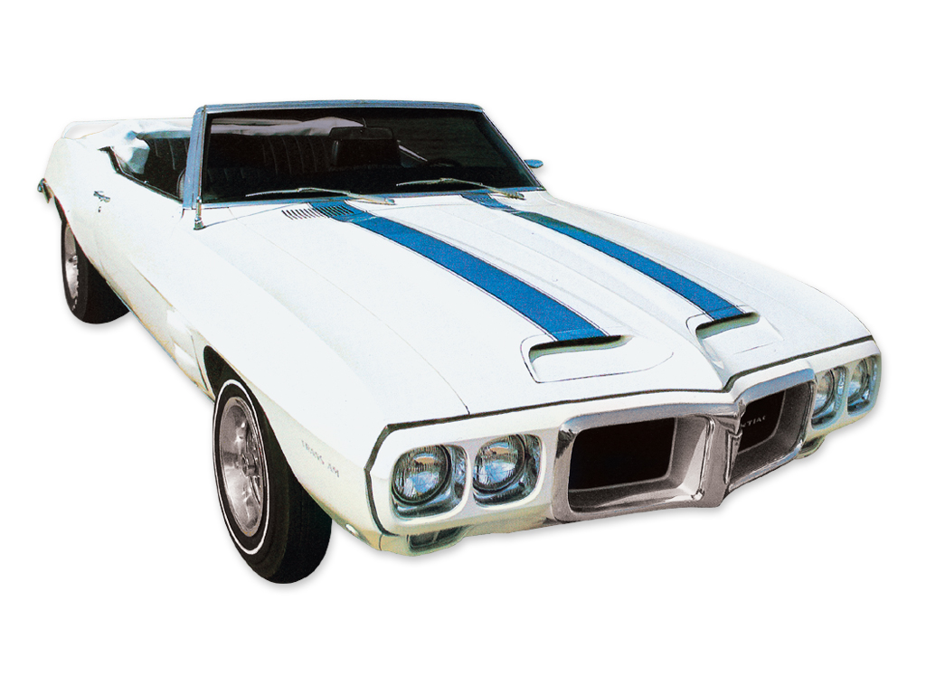 1969 TRANS AM STENCIL SET BLUE KIT