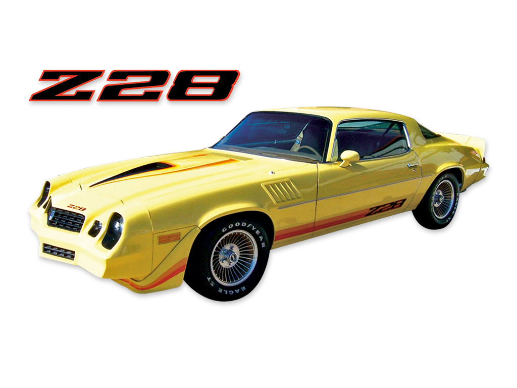 DECAL KIT Z28 ORANGE CAMARO 79