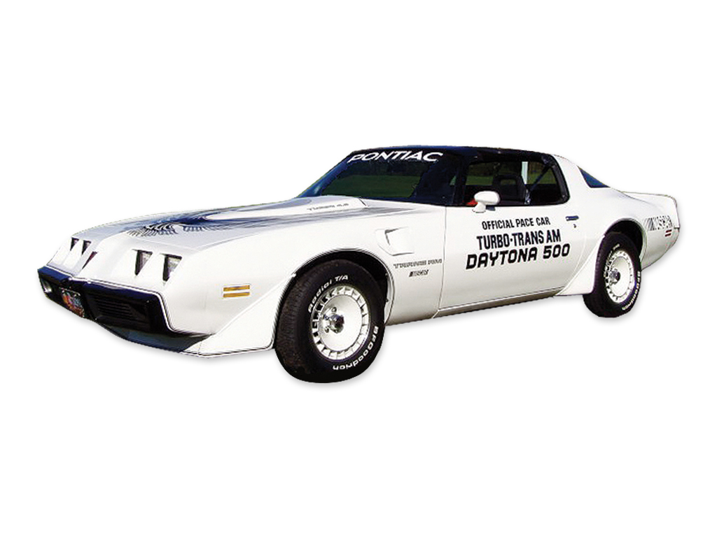 1981 Trans AM Daytona 500 Decal Set with Pre-Molded Stripes (Door Decals not included)