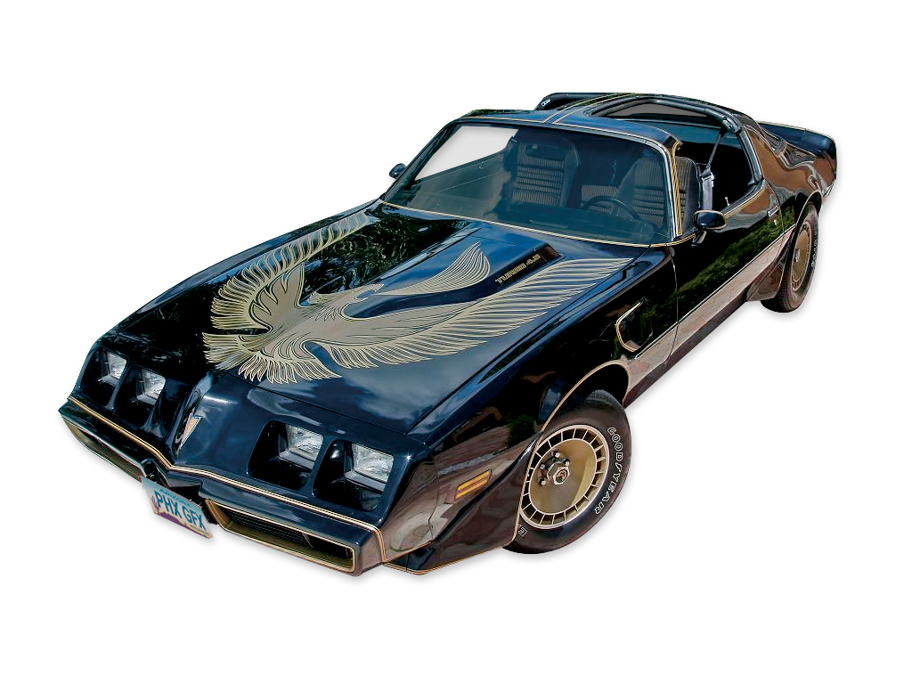 1981 Trans Am Special Edition Bandit Turbo Darker Gold Decal / Stripes Set with Roll Type Striping V2