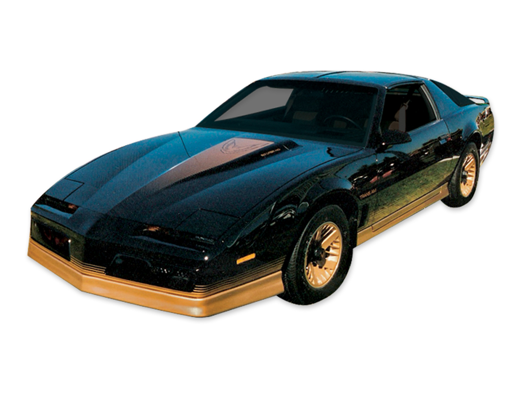 1984 Trans-Am Black Decal and Stripe Set
