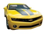 DECAL KIT COUPE RALLY STRIPE WITH & W/O RS SPOILER RED
