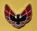 1975-78 Firebird / Formula/ Trans Am Roof Panel Emblem Sail Panel (Self Adhesive Backed)