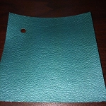 1968 Firebird Coupe Rear Side Panels for Deluxe Interior, Pre-Assembled (PAD) DARK AQUA