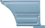 1967 CAMARO STANDARD PRE-ASSEMBLED PLATINUM EDITION COUPE REAR DOOR PANELS PAD LIGHT BLUE