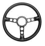 1973-81 FORMULA STEERING WHEEL (MED/THIN GRIP)