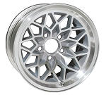 15 X 8 SILVER WHEEL SNOWFLAKE ALUMINUM SET OF 4