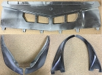 1977 - 78 TRANS AM COMPLETE 7 PCS FRONT CENTER AND WHEEL FLARE SPOILER KIT