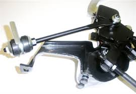 1967 - 1968 Camaro, Firebird, and 1968 - 1972 Nova 4-Speed Shifter Assembly for Muncie Transmission (New Design w/ Strut Rod)